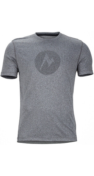 Marmot Transporter Tee SS Men Slate Grey Heather